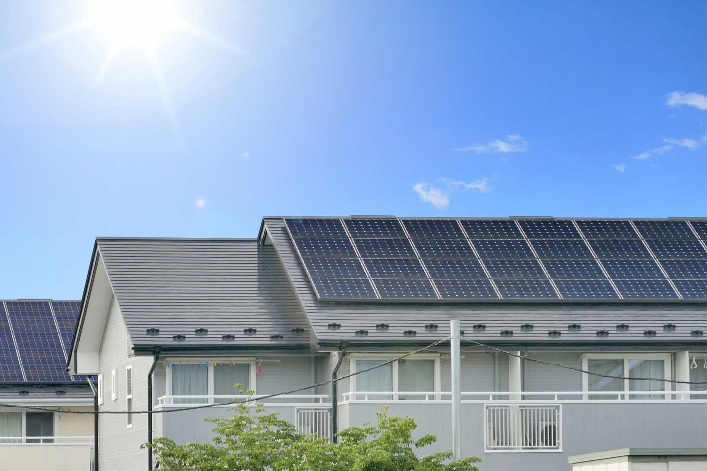 マンション・アパート屋根の有効活用イメージ